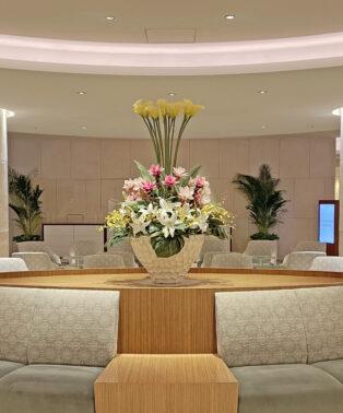 都内某ホテルの定期装花