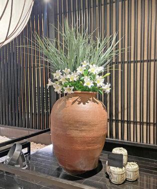 都内飲食店の装花